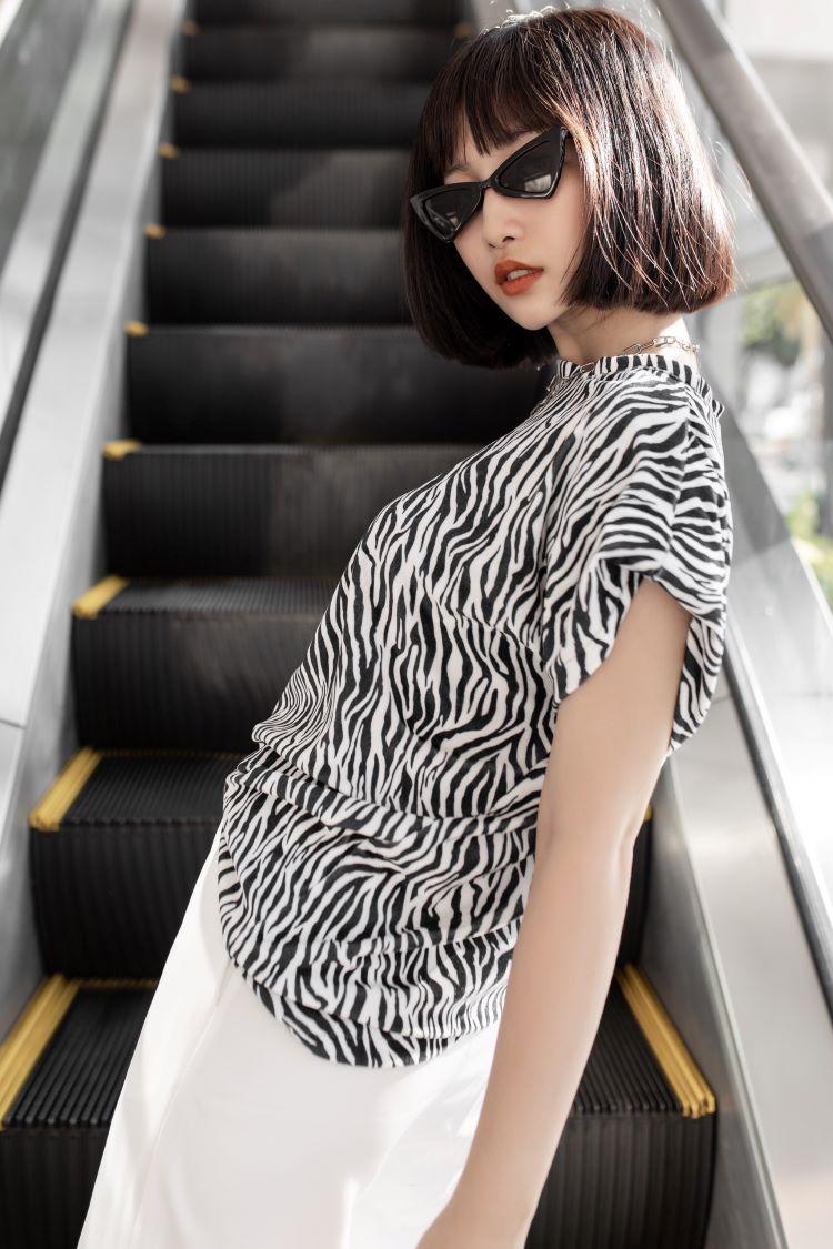 Phong cách độc lạ của cô nàng hotgirl Kim Dung