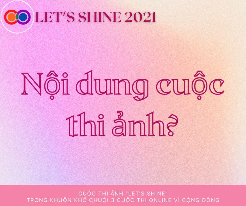 LET'S SHINE 2021 mang đến những câu chuyện về cộng đông LGBT